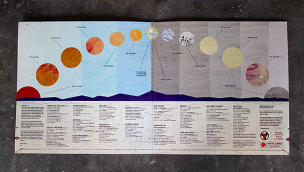 Move On The Sun Artwork - Gatefold