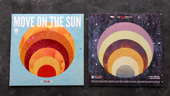 Move On The Sun Artwork - Font & Back